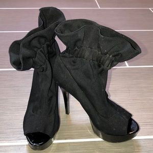 Chinese Laundry spiked booties